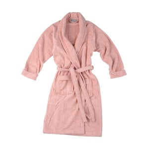Różowy szlafrok Walra Mila, L/XL