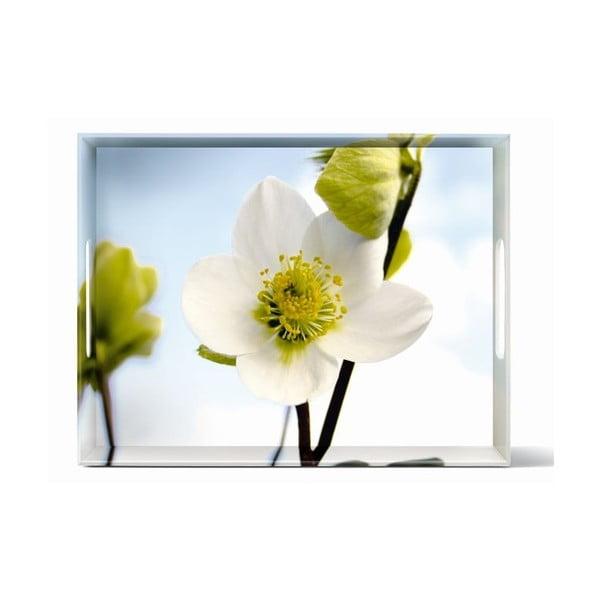 Taca Classic White Blossom, 40x31 cm