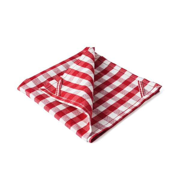 Ścierka kuchenna Anne, czerwona