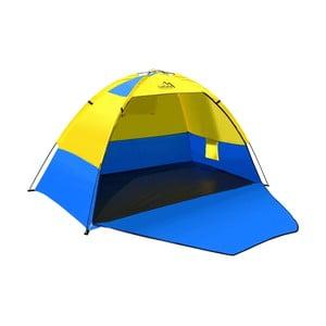 Żółto-niebieski namiot plażowy Cattara Zaton
