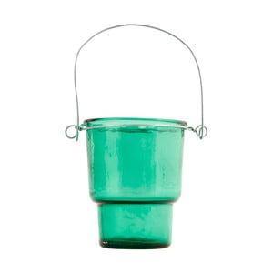 Zielony świecznik House Doctor Tealight, 20 cm