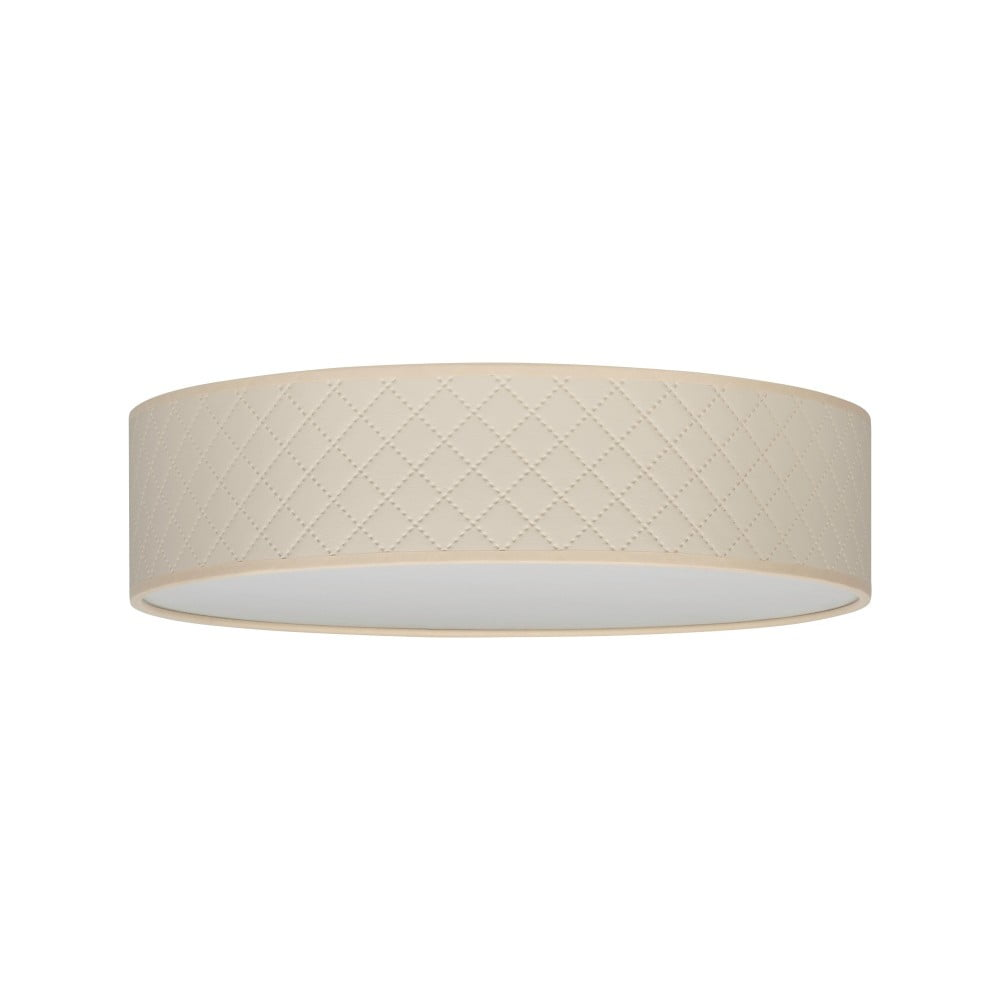 Kremowa lampa sufitowa Bulb Attack Trece, ⌀ 40 cm