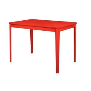 Czerwony stół do jadalni Støraa Trento, 76x110cm