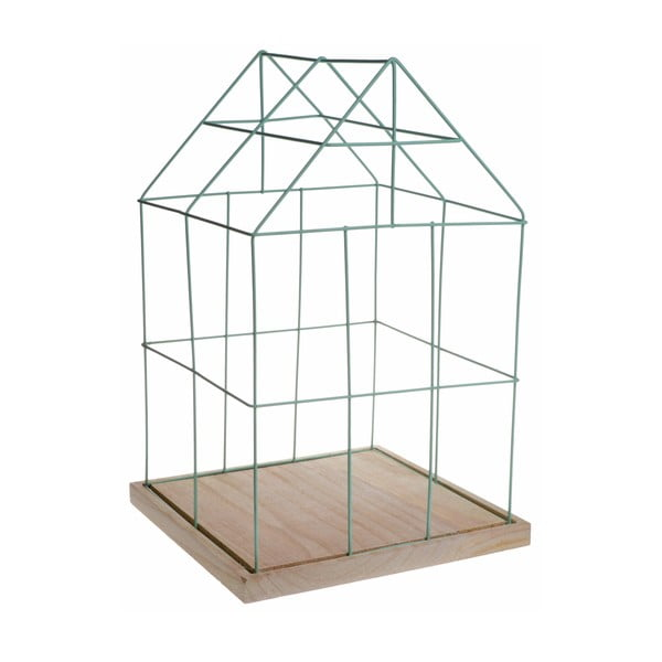 Dekoracyjna klatka Ewax Green Cage, 41 cm
