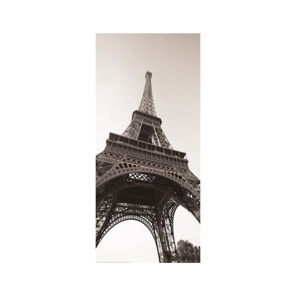 Naklejka na drzwi Wieża Eiffela