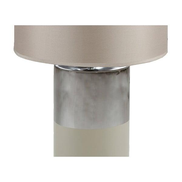 Szara lampa stołowa Santiago Pons Gara