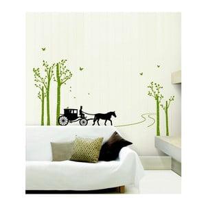 Naklejka Ambiance Horse-drawn carriage
