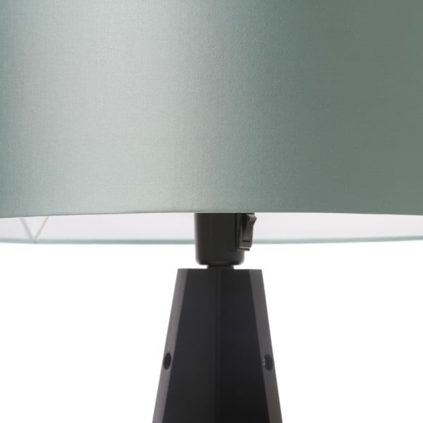 Lampa stołowa Artista Black/Light Green, 65 cm