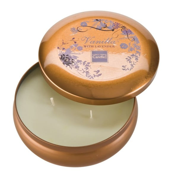 Świeczka zapachowa w puszceVanilla & Lavender Large, czas palenia 28 godzin