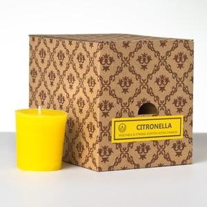 Zestaw 12 świeczek zapachowych Citronella, 15 godzin palenia