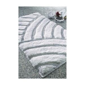 Biały dywanik łazienkowy Confetti Bathmats Karya, 60x100cm