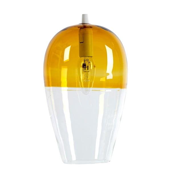Lampa sufitowa Ovaal Amber