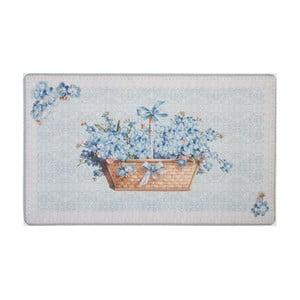 Wycieraczka Blue Blossom, 74x44 cm