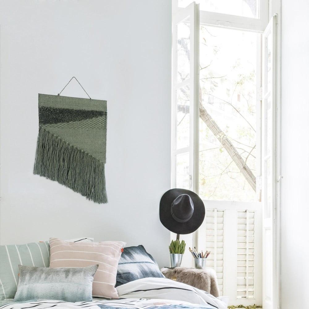 zielony r cznie robiony gobelin hf living polly 45x70 cm bonami. Black Bedroom Furniture Sets. Home Design Ideas