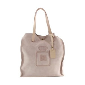 Skórzana torebka Perfume, różowa