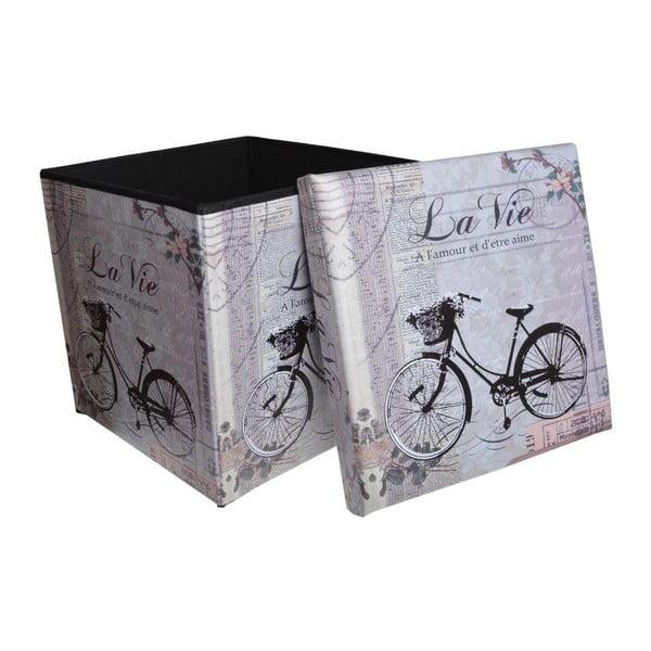 Puf Bike, 37x37 cm