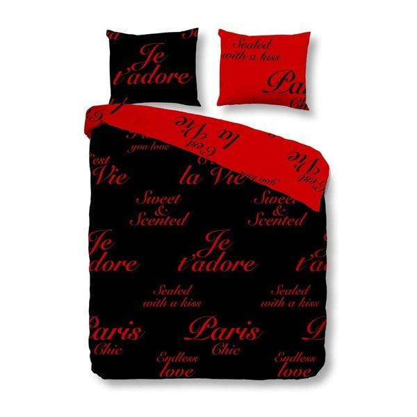 Pościel Paris Black Red, 240x200 cm