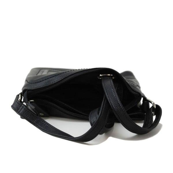 Skórzana torebka Cassandra Nero