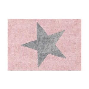 Dywan Estela 160x120 cm, różowo-szary