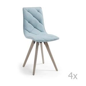 Zestaw 4 krzeseł La Forma Tuk