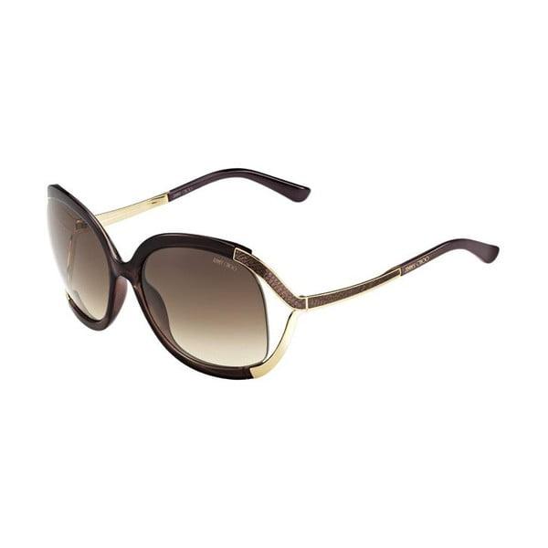 Okulary przeciwsłoneczne Jimmy Choo Beatrix Gold Brown/Brown