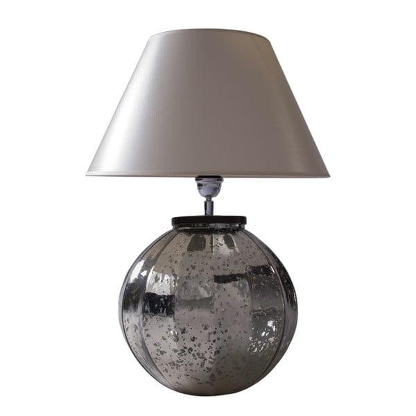 Lampa stołowa Silver Patina