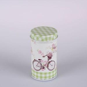 Blaszany pojemnik Paris Bicycle Round