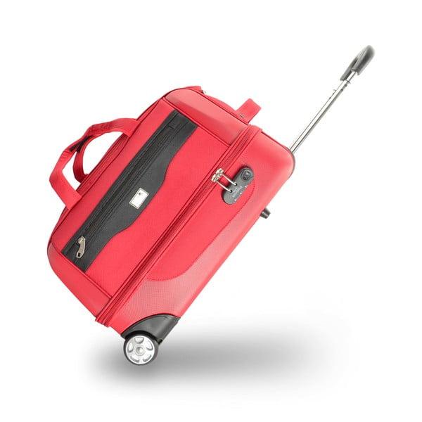 Komplet 2 toreb podróżnych na kółkach Roulettes Red