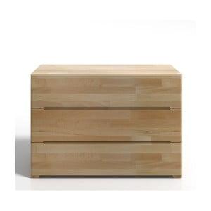 Komoda z drewna bukowego z 3 szufladami SKANDICA Sparta