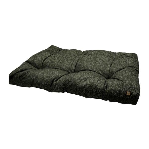 Czarne legowisko dla psa Overseas Porto, 70x110 cm