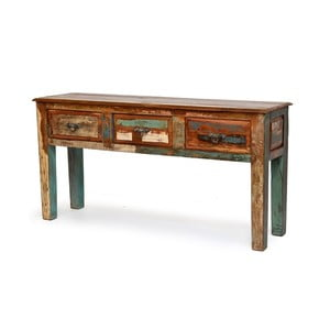 Stolik z szufladami Goa, 46x153 cm