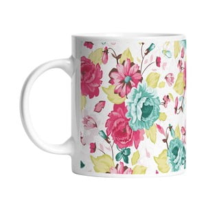 Ceramiczny kubek Floral Elegance, 330 ml