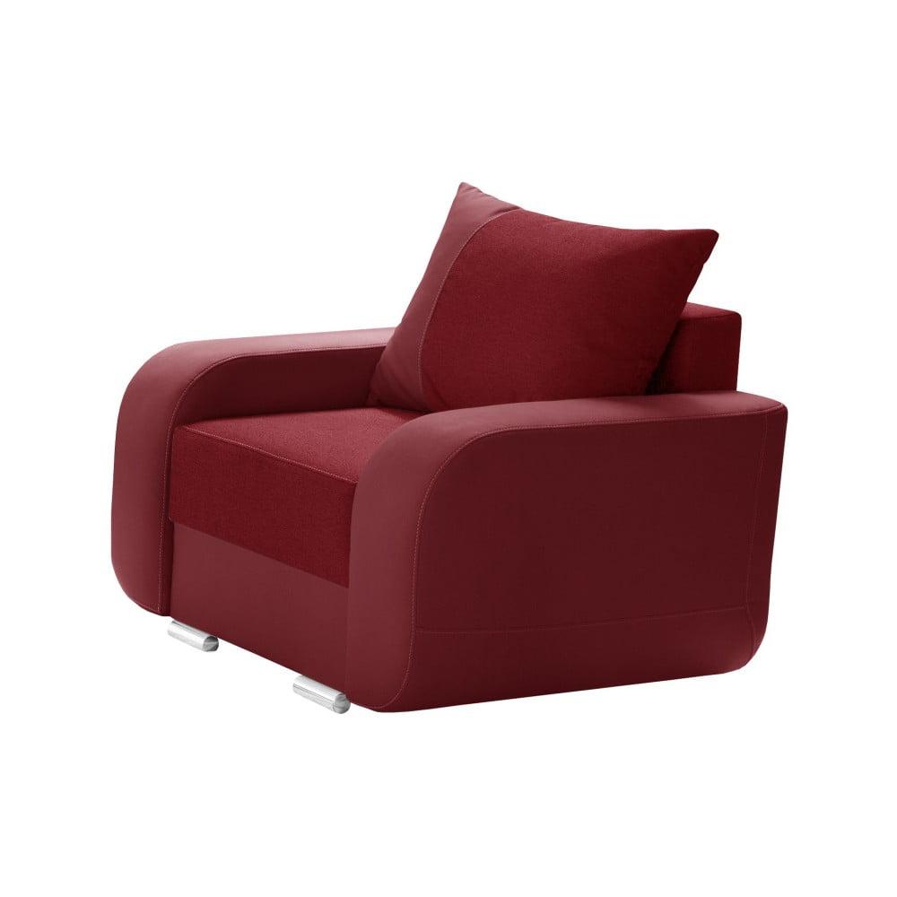 Czerwony fotel INTERIEUR DE FAMILLE PARIS Destin
