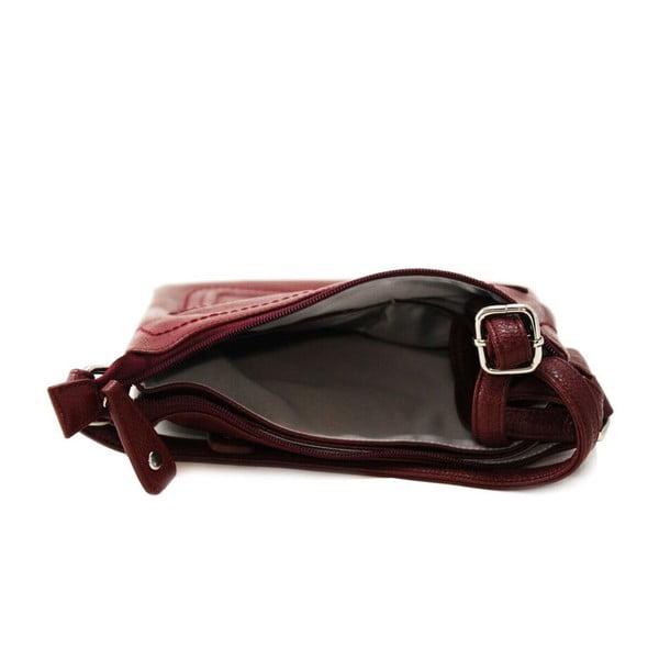 Skórzana torebka Cassandra Wine
