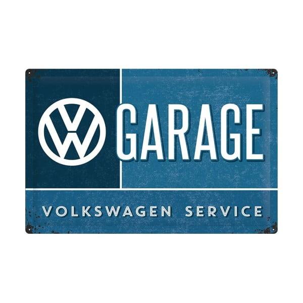 Tabliczka blaszana VW Service, 40x60 cm