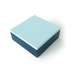 Pudełko drewniane Remember Blue
