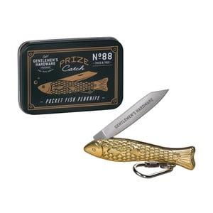 Złoty nożyk w kształcie rybki Gentlemen's Hardware