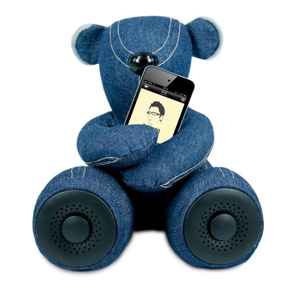 Niedźwiadek z głośnikiem Hi-George, denim