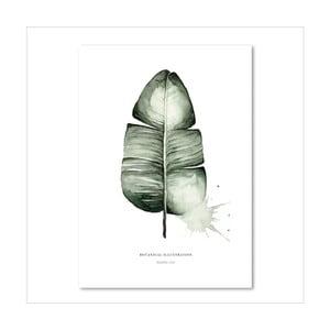 Plakat Leo La Douce Banana Leaf, 29,7x42cm