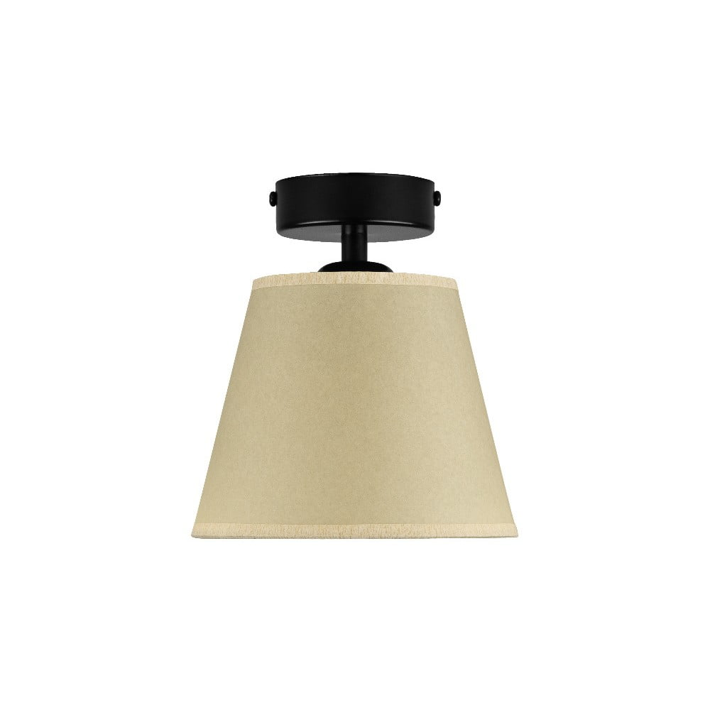 Beżowa lampa sufitowa Sotto Luce IRO Parchment, ⌀ 16 cm