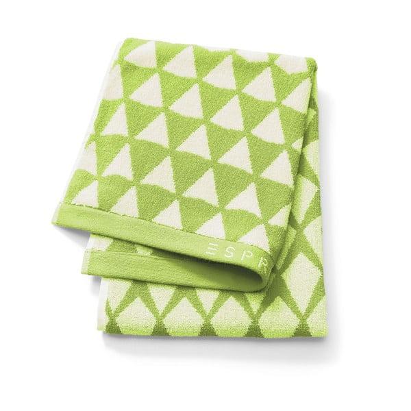 Ręcznik Esprit Mina 50x100 cm, limetkowy