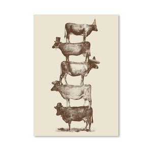 Plakat Cow Cow Nuts, 30x42 cm