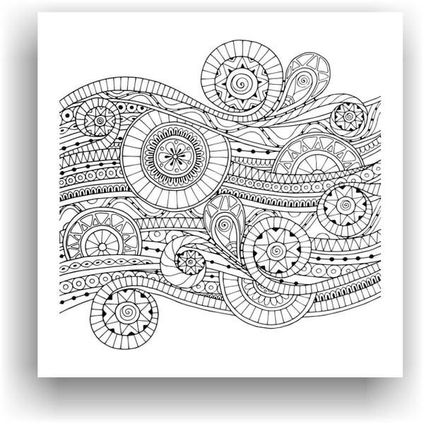 Obraz do kolorowania 39, 50x50 cm
