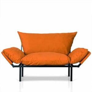 Pomarańczowa sofa Kate Louise Quinny