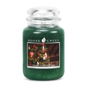 Świeczka zapachowa w szklanym pojemniku Goose Creek Choinka, 0,68 kg
