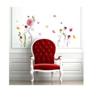 Zestaw naklejek Ambiance Roses And Butterflies Decals