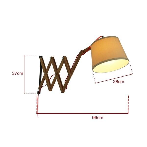 Lampa ścienna Tisoro