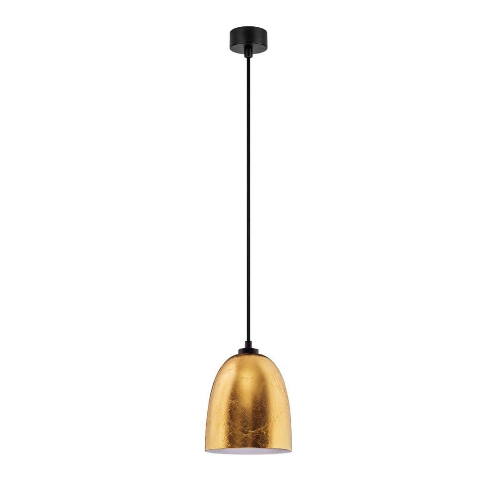 Lampa wisząca w złotym kolorze Sotto Luce Awa