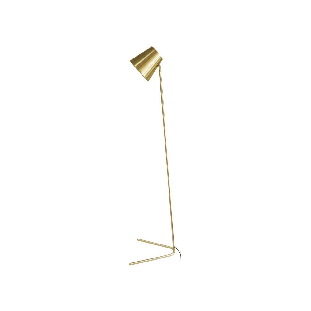 Lampa stojąca w kolorze złota Leitmotiv Noble