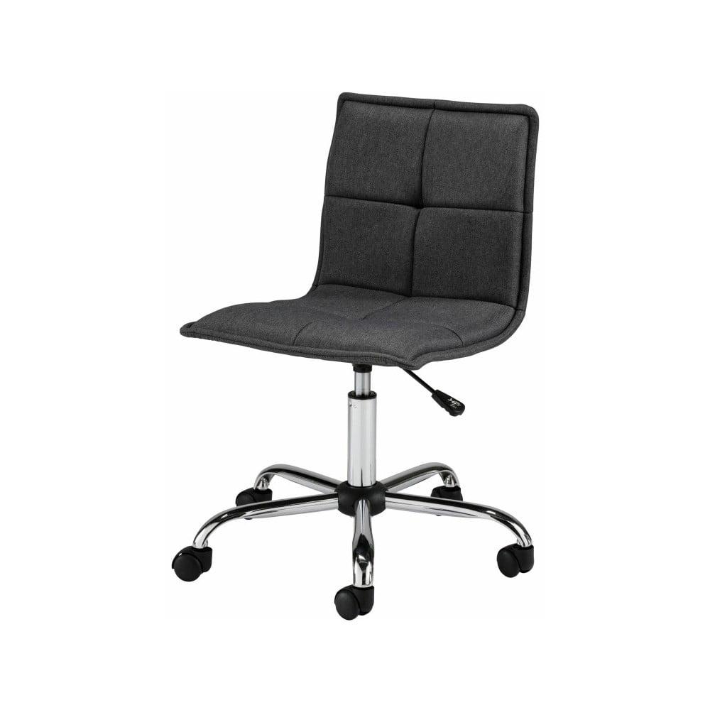 Czarne krzesło biurowe na kółkach Støraa Bartal